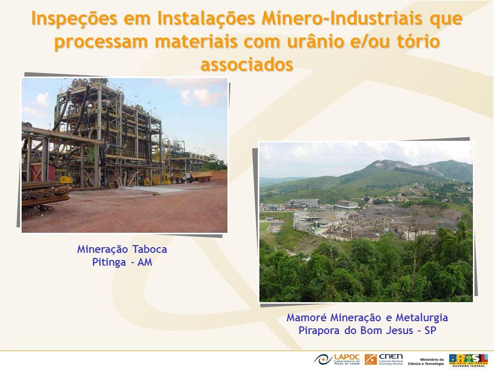 Mamoré Mineração e Metalurgia Pirapora do Bom Jesus - SP