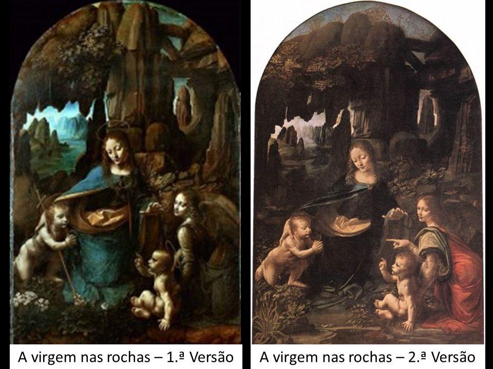 A virgem nas rochas – 1.ª Versão A virgem nas rochas – 2.ª Versão