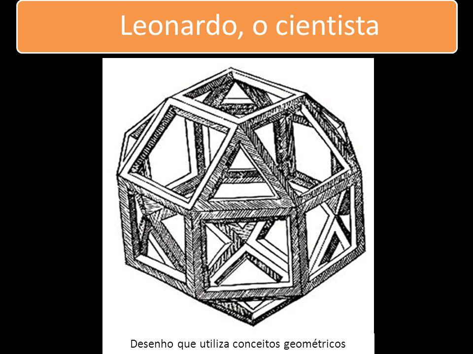 Desenho que utiliza conceitos geométricos