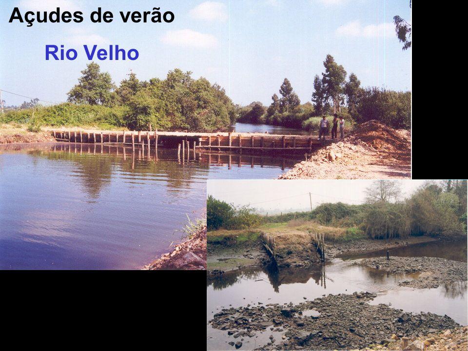 Açudes de verão Rio Velho