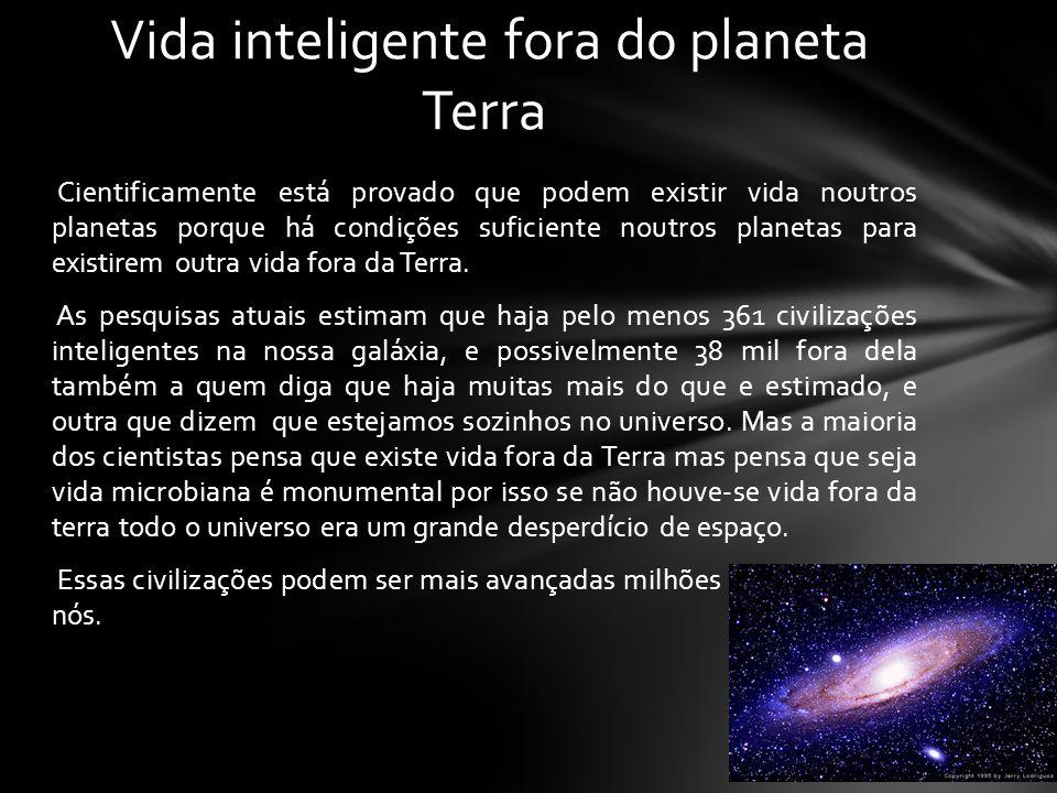 Vida inteligente fora do planeta Terra