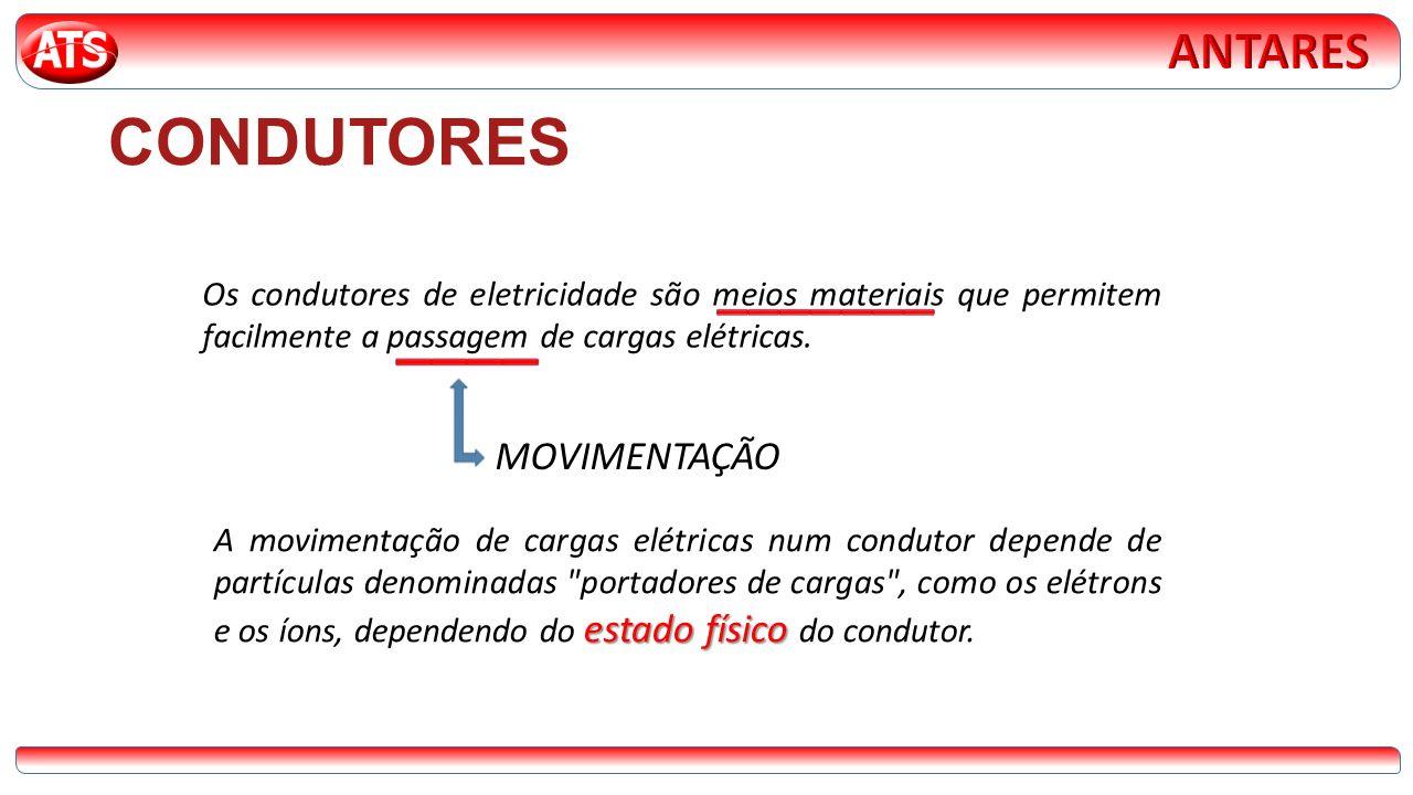 ____ CONDUTORES _______ ANTARES MOVIMENTAÇÃO