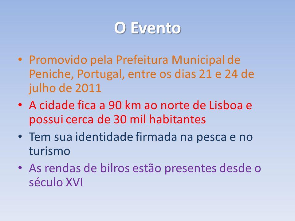 O Evento Promovido pela Prefeitura Municipal de Peniche, Portugal, entre os dias 21 e 24 de julho de 2011.
