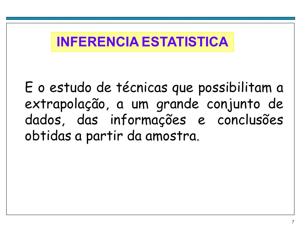 INFERENCIA ESTATISTICA