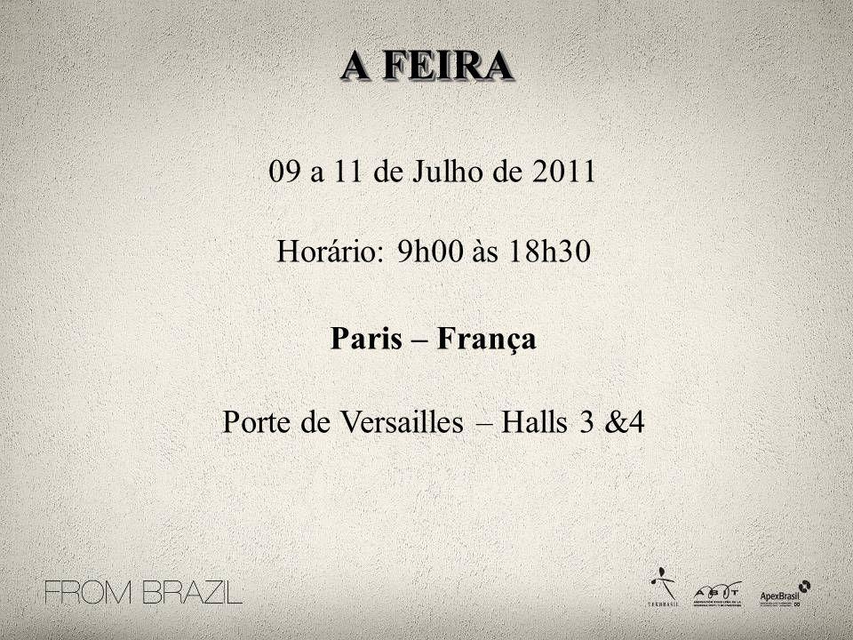 Porte de Versailles – Halls 3 &4