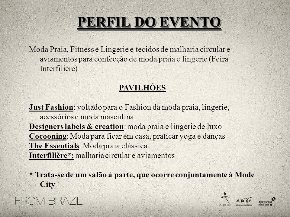 PERFIL DO EVENTO