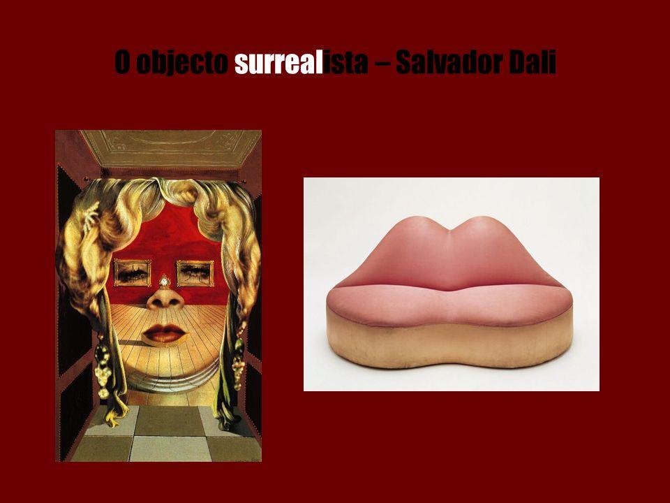 O objecto surrealista – Salvador Dali