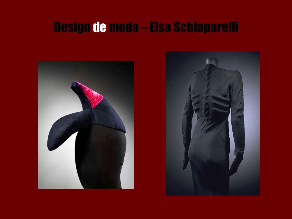 Design de moda – Elsa Schiaparelli