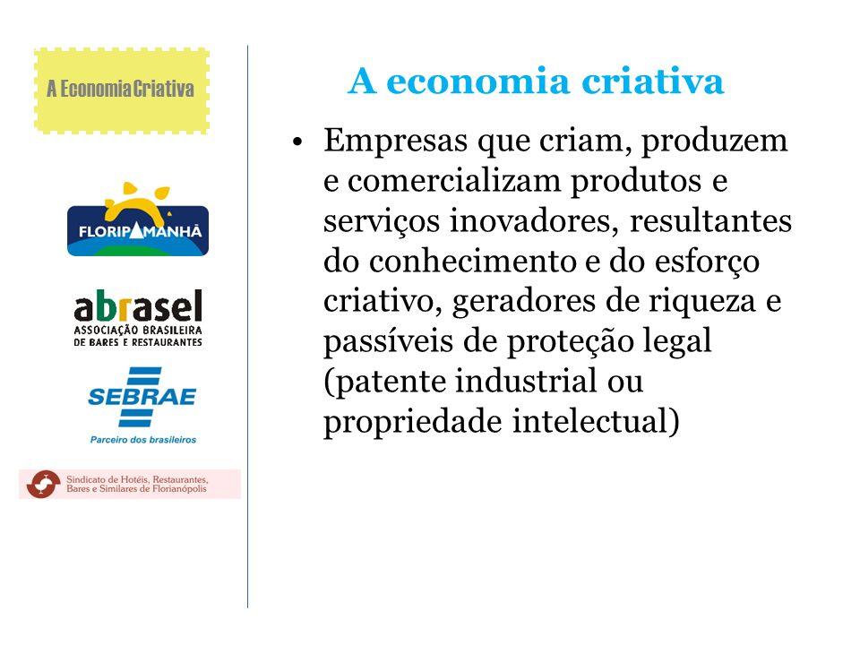 A economia criativa A Economia Criativa.