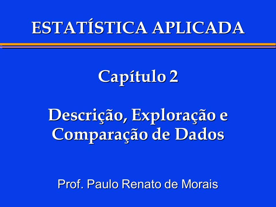 Capítulo 2 Descrição, Exploração e Comparação de Dados