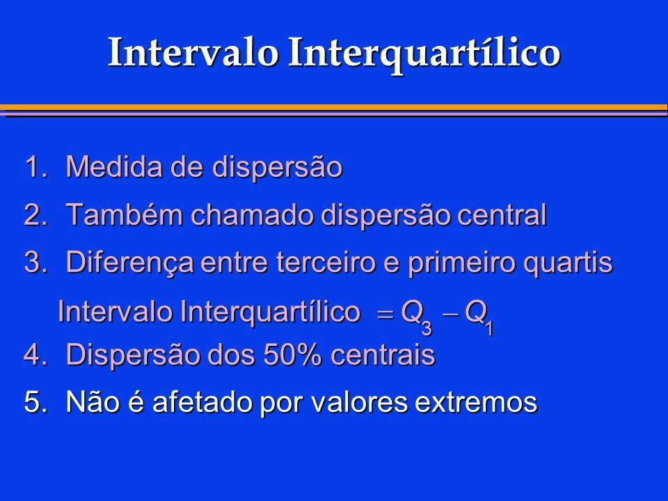 Intervalo Interquartílico