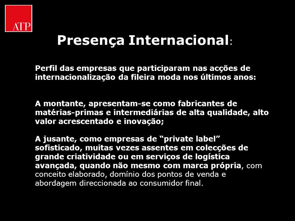 Presença Internacional:
