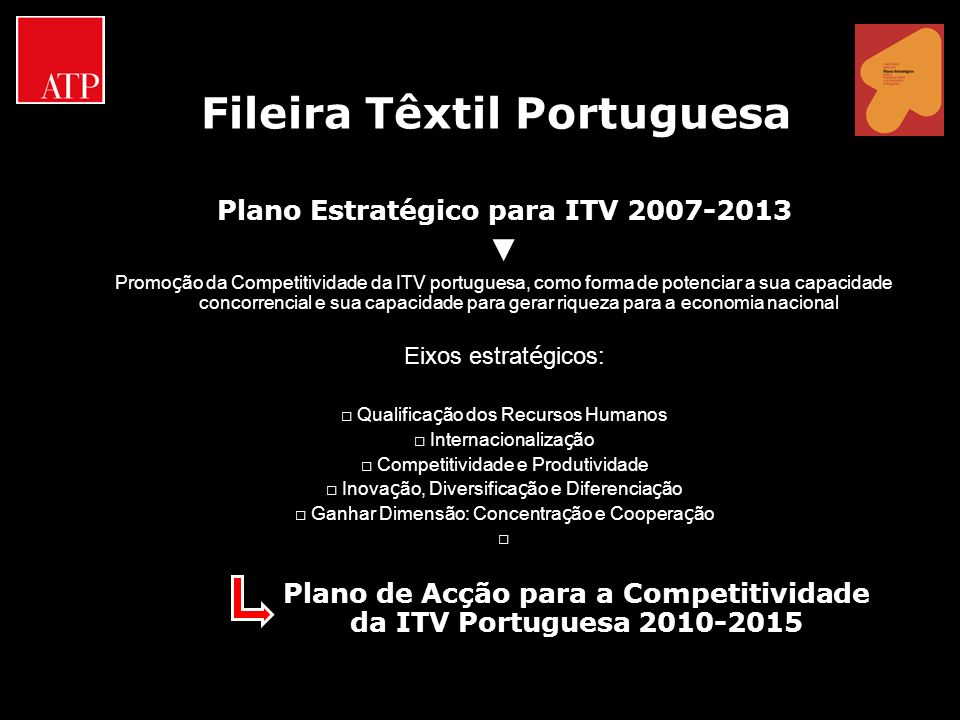 Fileira Têxtil Portuguesa