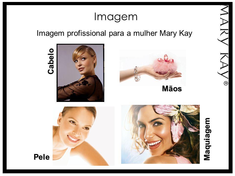 Imagem Imagem profissional para a mulher Mary Kay Cabelo Mãos
