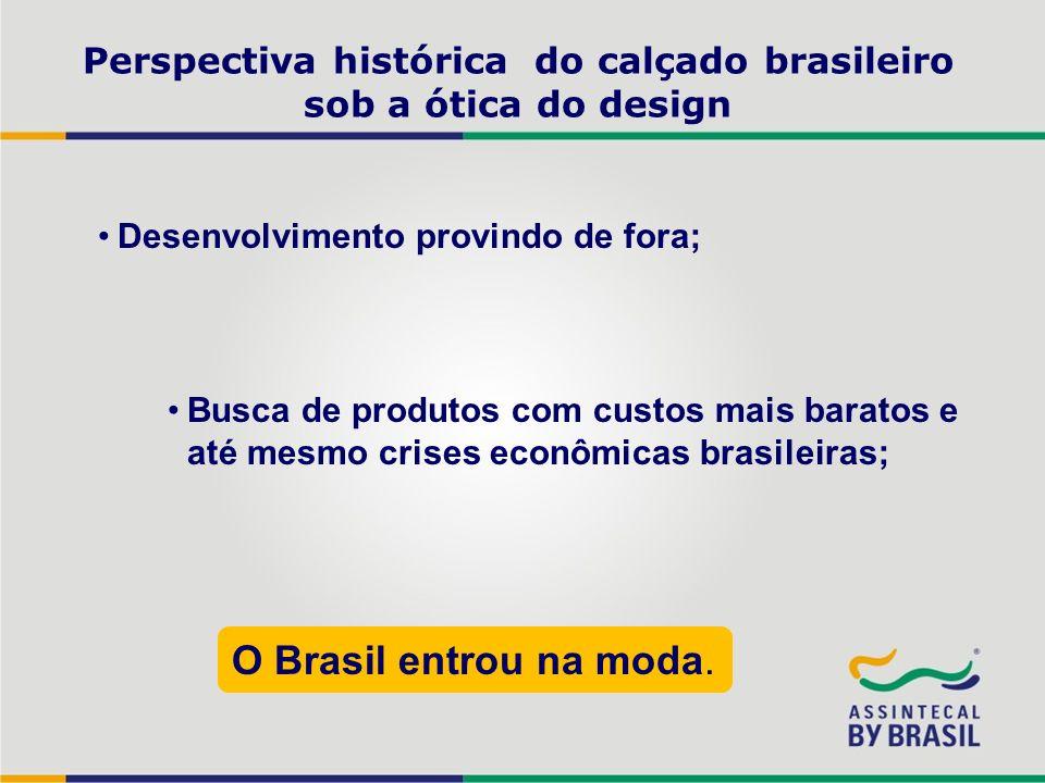 Perspectiva histórica do calçado brasileiro sob a ótica do design