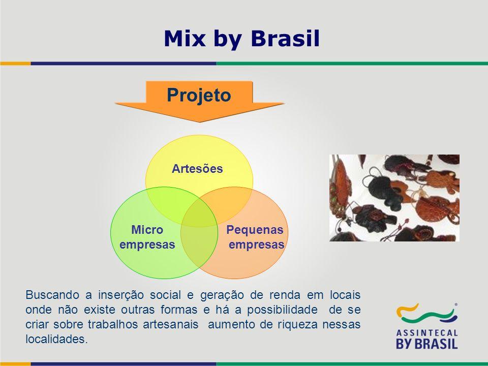 Mix by Brasil Projeto Artesões Micro empresas Pequenas empresas