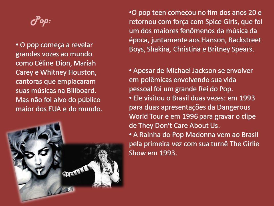 O pop teen começou no fim dos anos 20 e retornou com força com Spice Girls, que foi um dos maiores fenômenos da música da época, juntamente aos Hanson, Backstreet Boys, Shakira, Christina e Britney Spears.