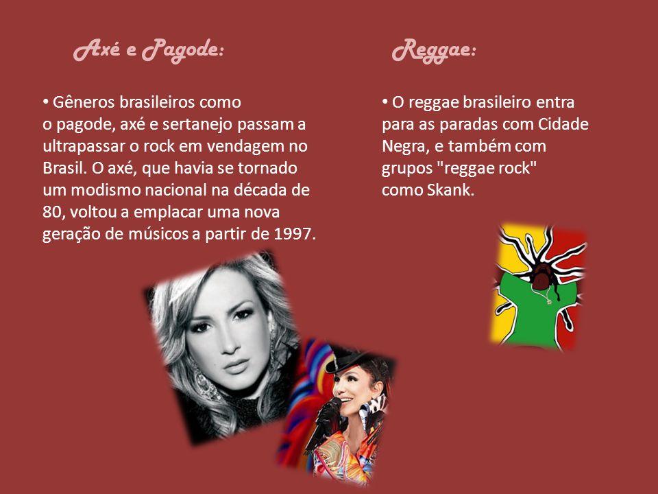 Axé e Pagode: Reggae: