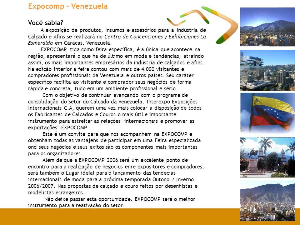 Expocomp - Venezuela Você sabia