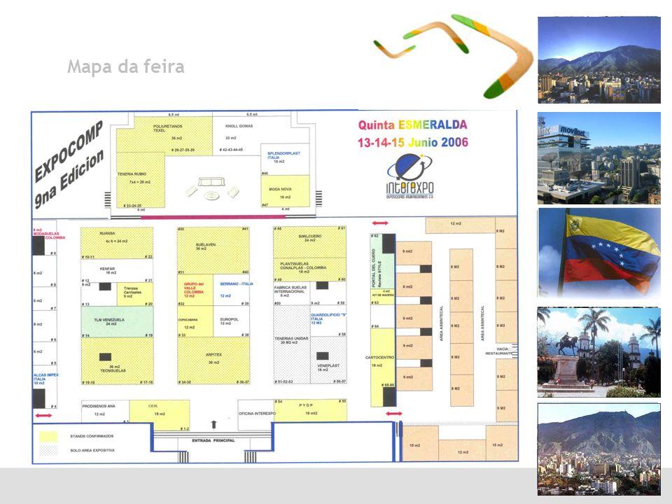 Mapa da feira