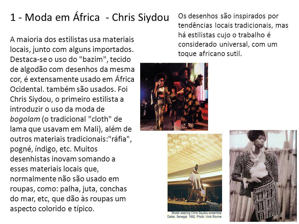 1 - Moda em África - Chris Siydou