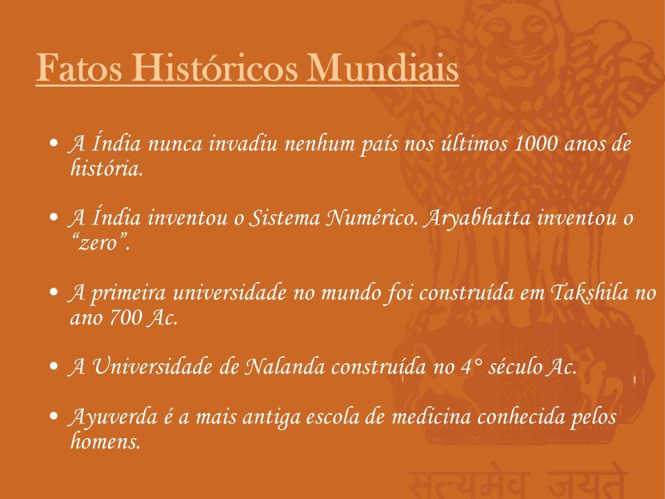 Fatos Históricos Mundiais