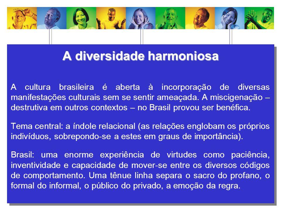 A diversidade harmoniosa