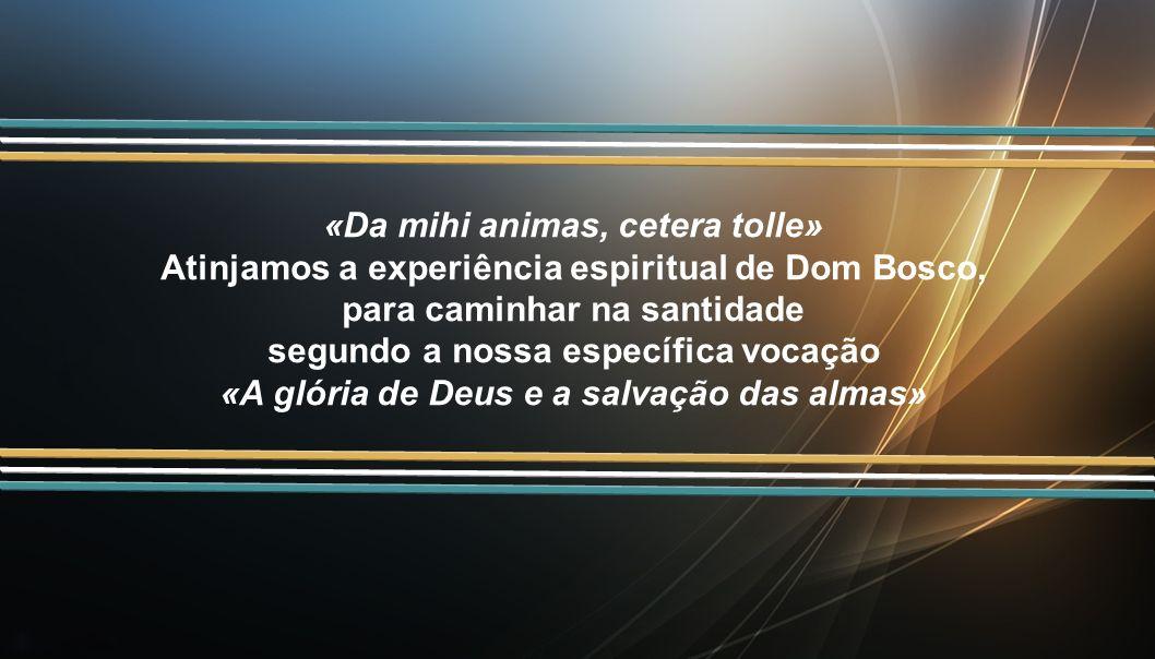 «Da mihi animas, cetera tolle»