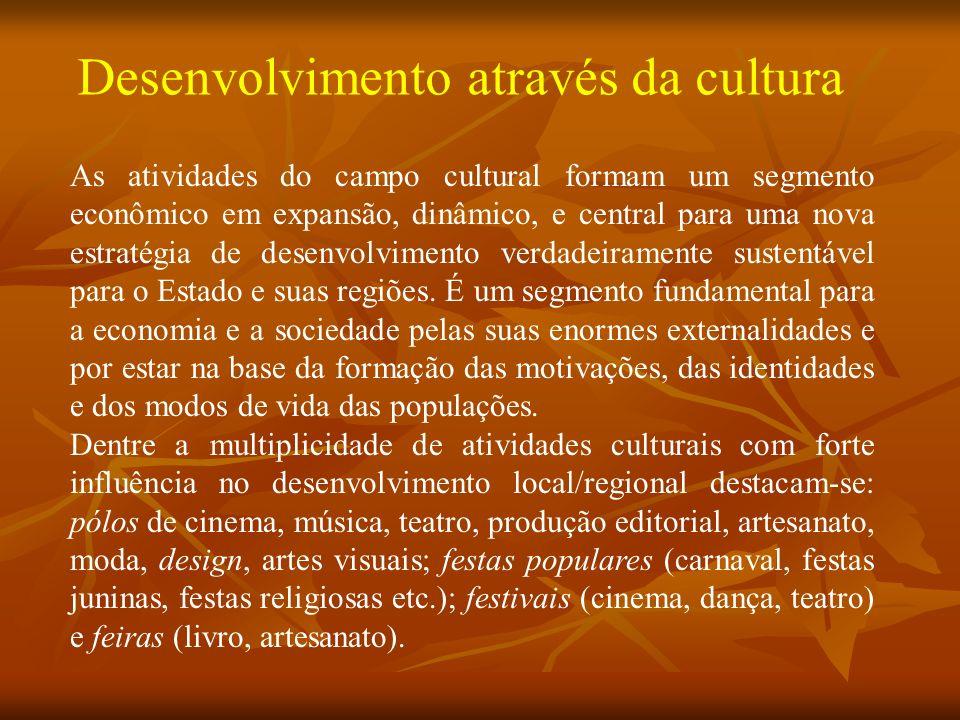 Desenvolvimento através da cultura