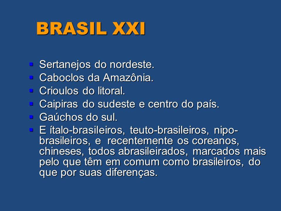 BRASIL XXI Sertanejos do nordeste. Caboclos da Amazônia.