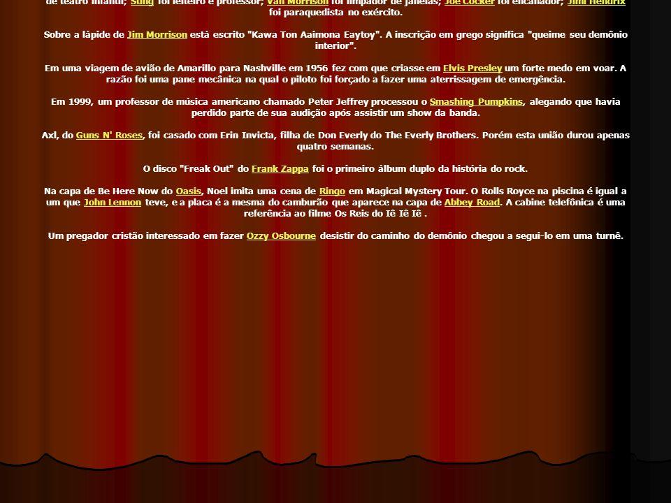 No disco O Último Solo de Renato Russo existem algumas músicas em inglês, que foram gravadas originalmente para estar no álbum The Stonewall Celebration Concert , mas que ficaram de fora pois a fábrica que produziu os discos, naquela época, ainda não tinha tecnologia para fabricar CDs com mais de 70 minutos de duração.