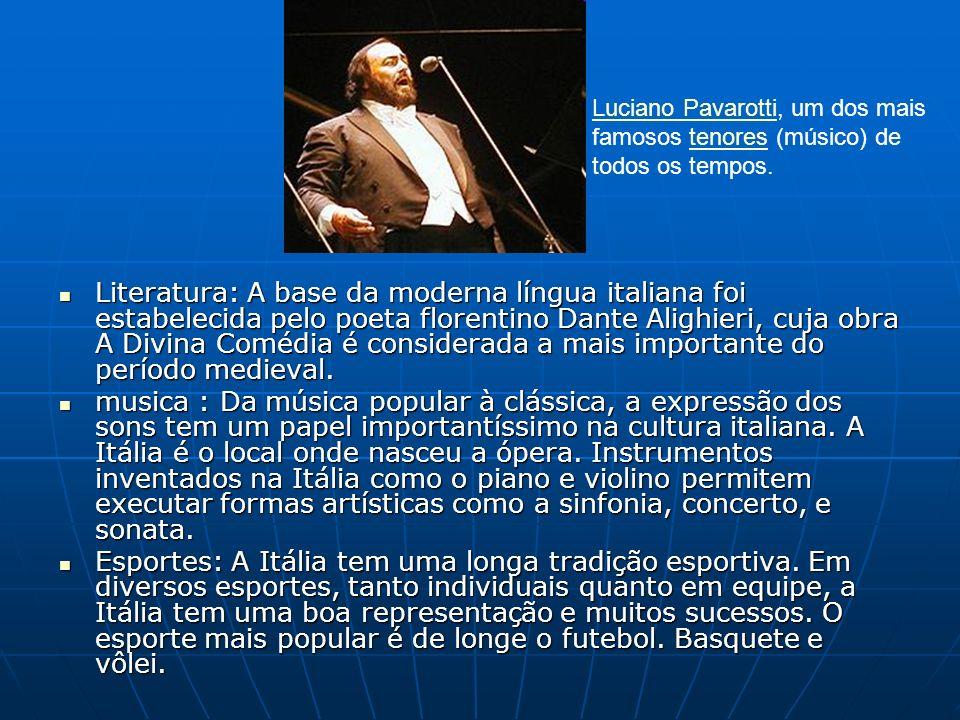 Luciano Pavarotti, um dos mais famosos tenores (músico) de todos os tempos.