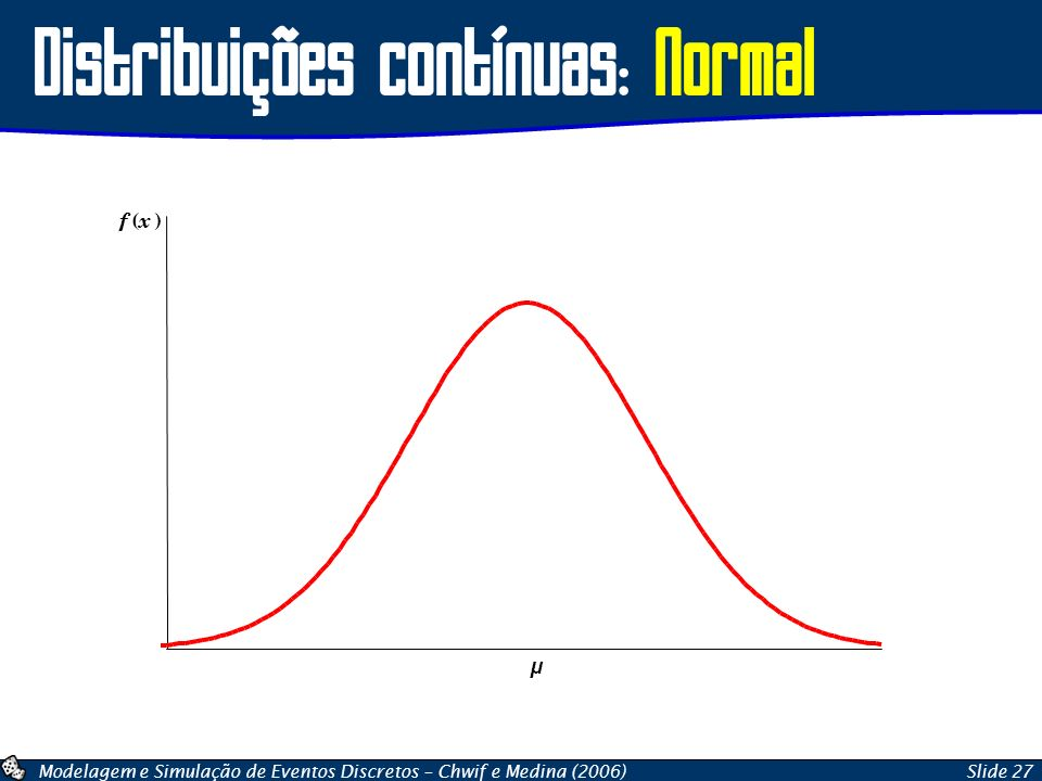 Distribuições contínuas: Normal