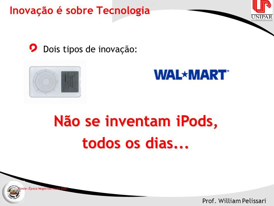 Inovação é sobre Tecnologia