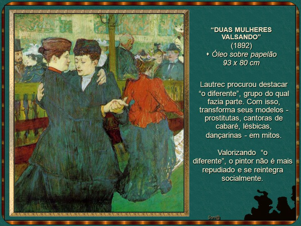 DUAS MULHERES VALSANDO