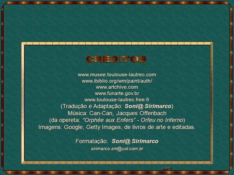 CRÉDITOS (Tradução e Adaptação: Soni@ Sirimarco)