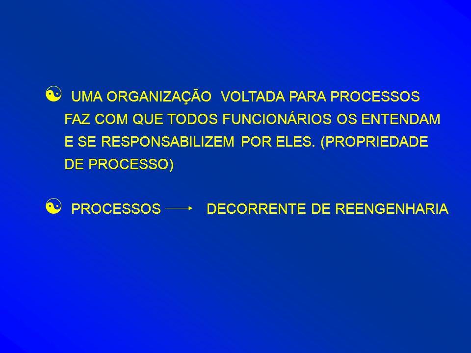 UMA ORGANIZAÇÃO VOLTADA PARA PROCESSOS