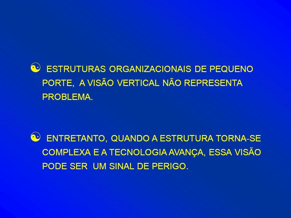 ESTRUTURAS ORGANIZACIONAIS DE PEQUENO