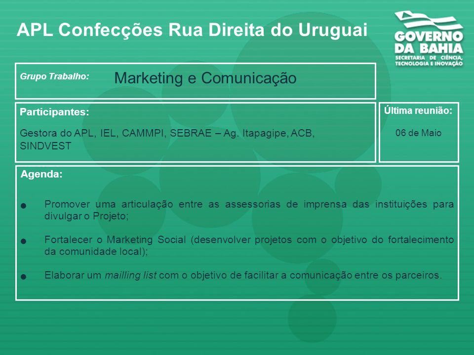 APL Confecções Rua Direita do Uruguai