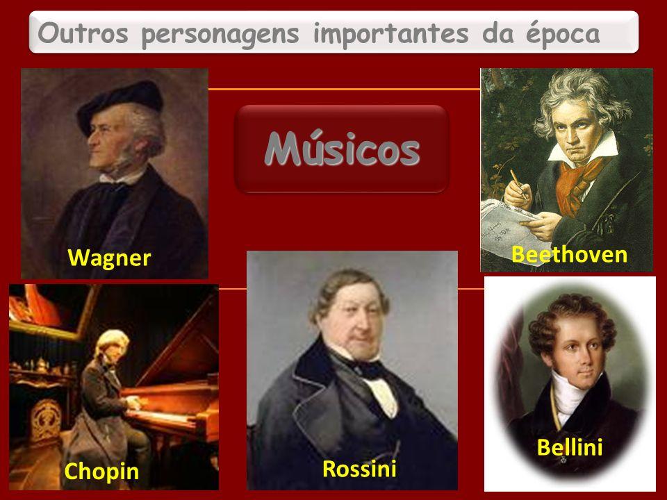 Outros personagens importantes da época