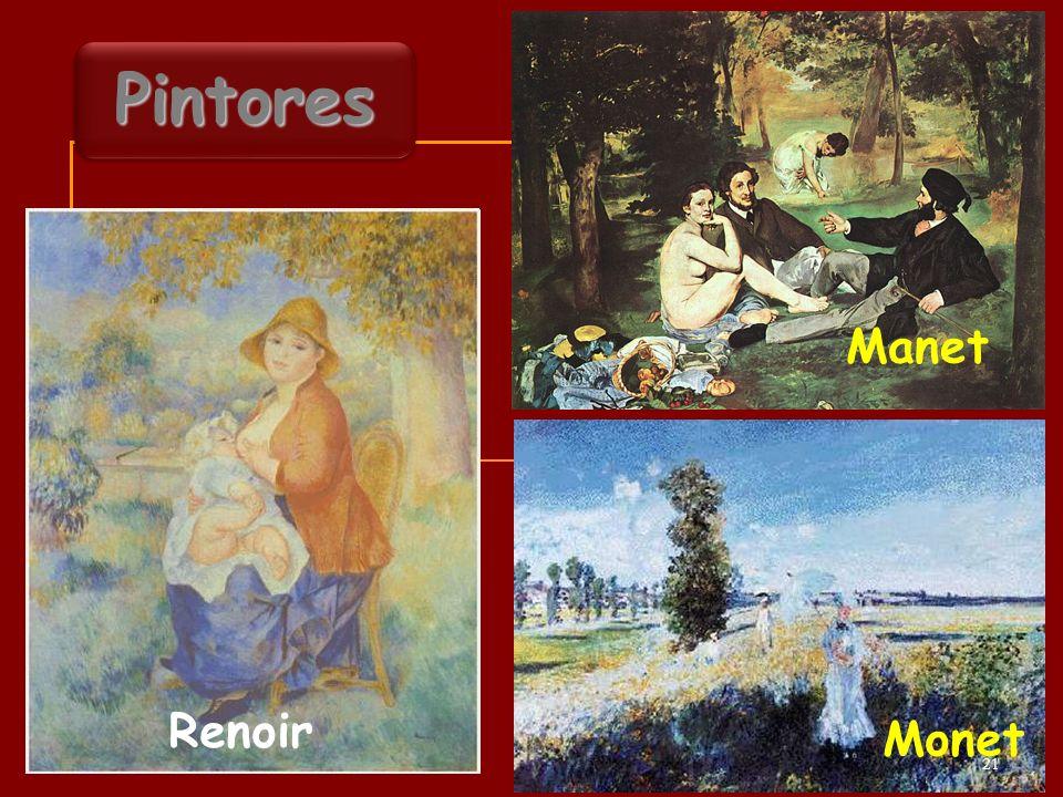 Manet Pintores Renoir Monet