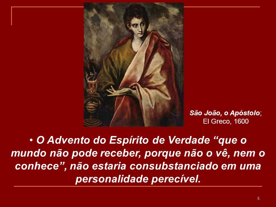 São João, o Apóstolo; El Greco, 1600