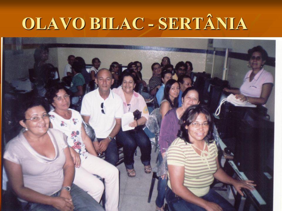 OLAVO BILAC - SERTÂNIA