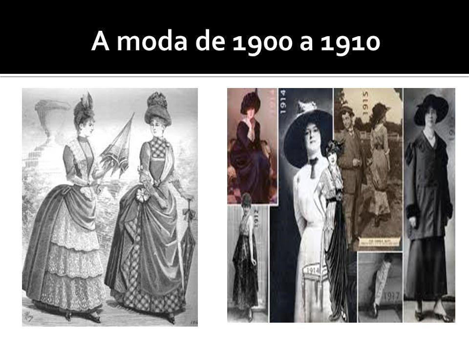 A moda de 1900 a 1910