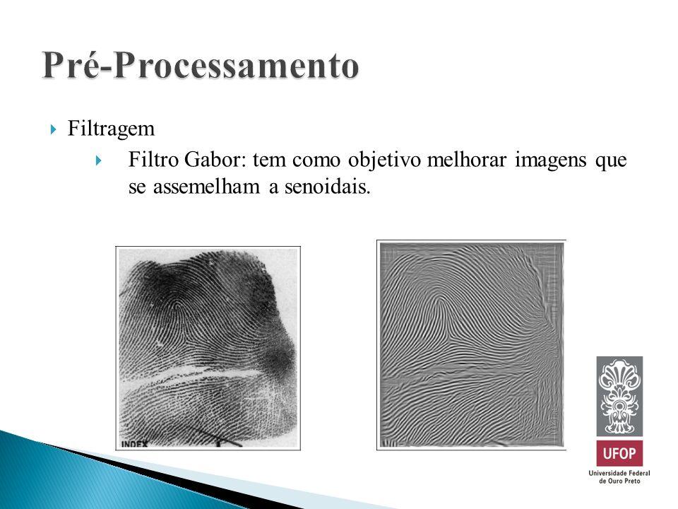 Pré-Processamento Filtragem
