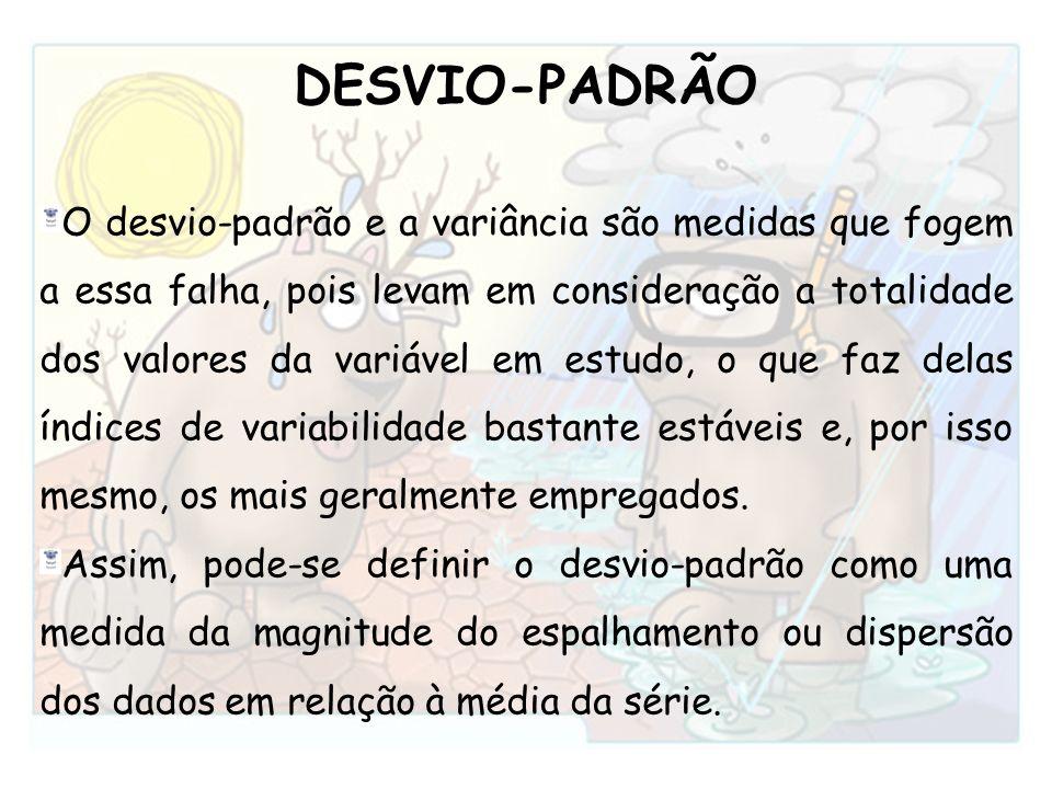 DESVIO-PADRÃO