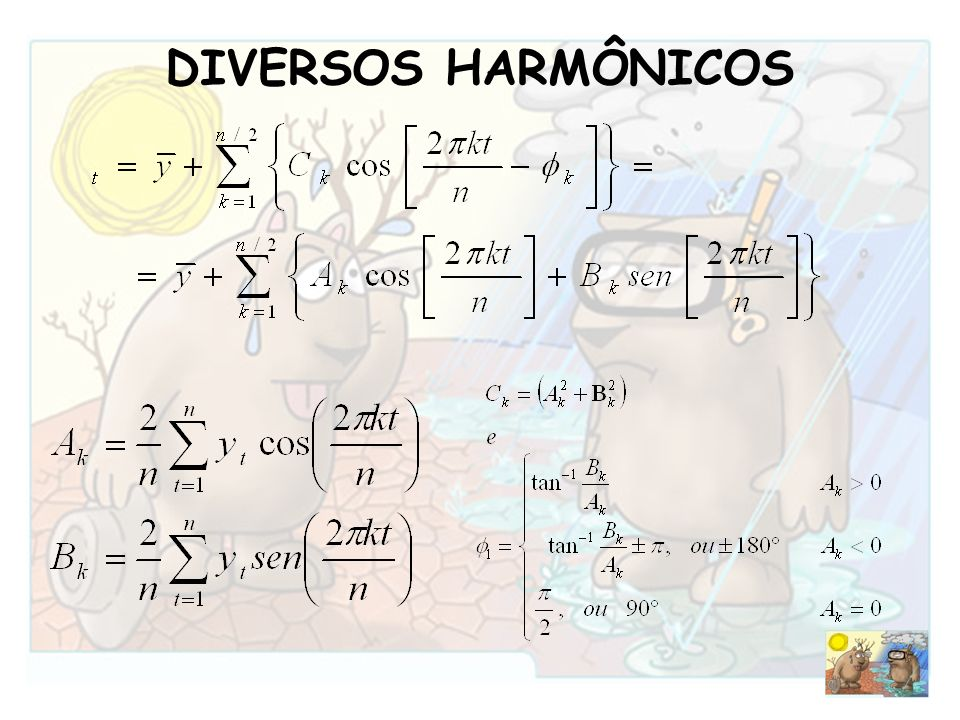 DIVERSOS HARMÔNICOS