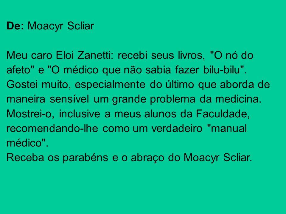 De: Moacyr Scliar