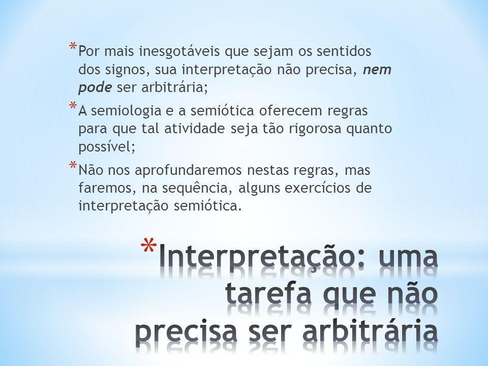 Interpretação: uma tarefa que não precisa ser arbitrária