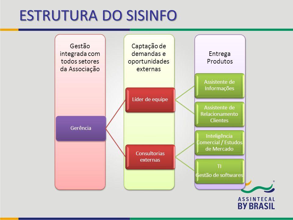 ESTRUTURA DO SISINFO Gerência Líder de equipe